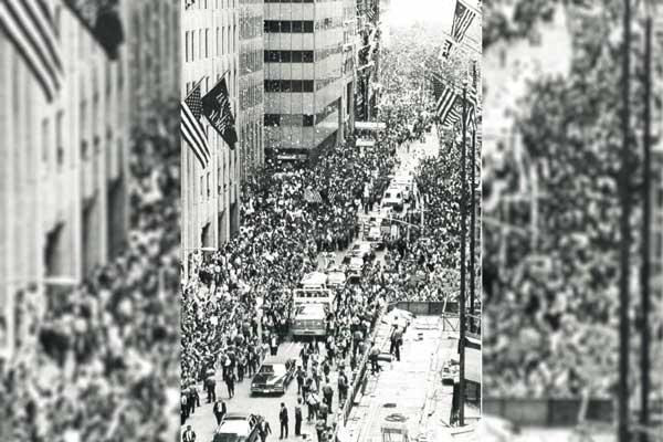 Mandela Motorcade in N.Y.